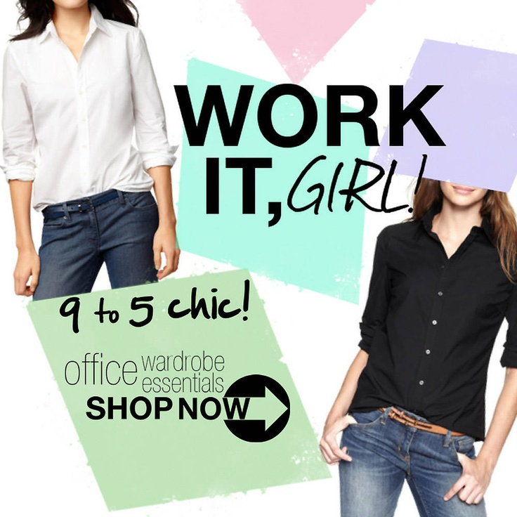 Work It, Girl! 9-to-5 chic collection: 9 To 5 Chic, Models Sets, Chic Models, Chic Collection
