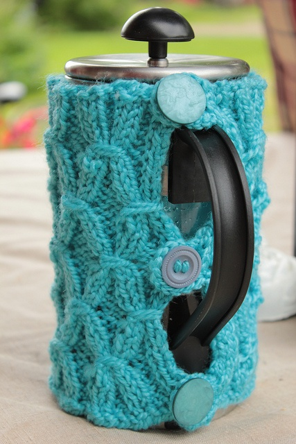 Ravelry  Project Gallery for Mug and French Press Jacket pattern by MK  Carroll 2662644aa8ff