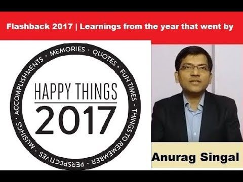 Flashback 2017   What I learnt from this year that went by