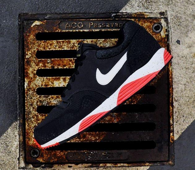 #Nike Lunar Terra Safari – Dark Charcoal / Sail – Black – Atomic Red