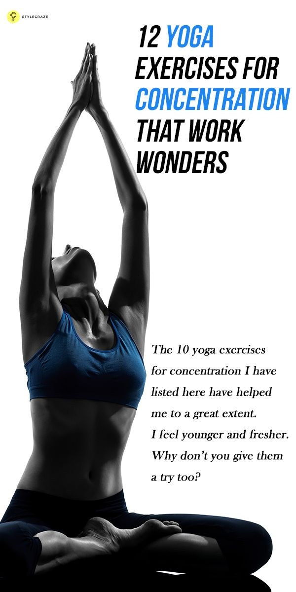 With increasing age, concentration levels decline. Therefore, seeking ways to improve concentration is vital. Learn yoga for concentration, the ...