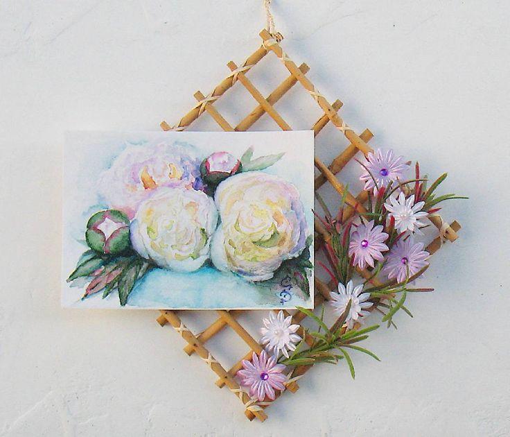 Сегодня солнечная погода и мне захотелось сфотографировать мои последние акварельные пиончики более качественно.  Peonies. Watercolor card.  #art #watercolor #painting #topcreator  #drawings #drawing #paintings #painting #card #top_watercolor #flowers  #illustration #instaart #aquarelle #watercolorillustration #акварель #рисунки #рисунокакварелью #рисунокназаказ #рисунок  #картинаакварелью #картина  #одинденьсхудожником #cartel_watercolorists #рисуюназаказ #севастополь  #иллюстрация…