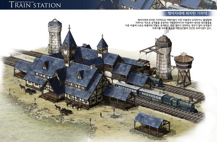 GGSCHOOL, Artist 김은기, Student Portfolio for game, 2D Scene Concept Art, www.ggschool.co.kr