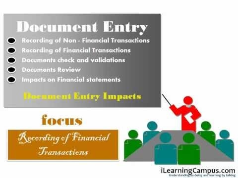 SAP ERP - FI (Finance) - Document Entry