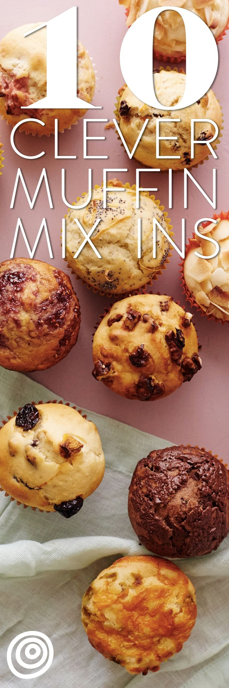 10 Quick and Easy Ways to Upgrade a Basic Plain Muffin Batter Recipe. Mix in one of these sweet or savory options for a breakfast treat like no other! if you love baking new recipes on the weekend (or even on weekday mornings), these ideas will keep you going for days. From traditional like lemon poppyseed and chocolate chip to unique like cheese and spicy jalapeno, there's something for everyone! They're great to bake with your kids too!