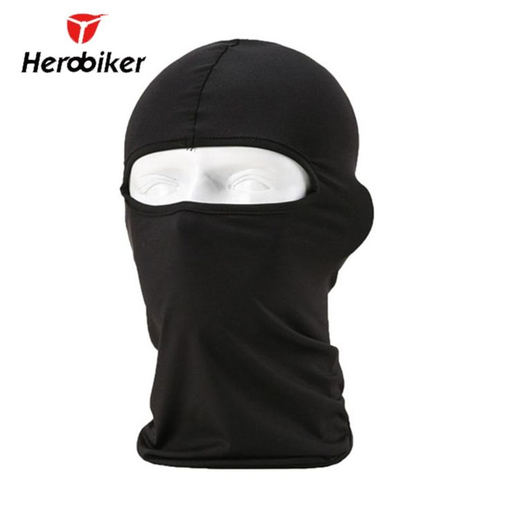 HEROBIKER New Winter Lycra Motorcycle Balaclava Hood Police Bike Wind Cap Ski Stopper Face Neck Mask Windproof Hat