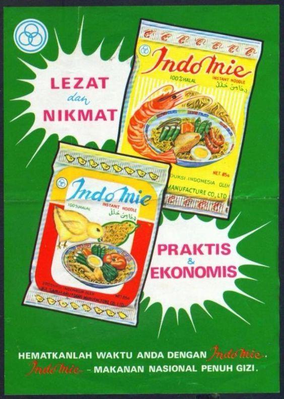 Iklan Lawas Indomie