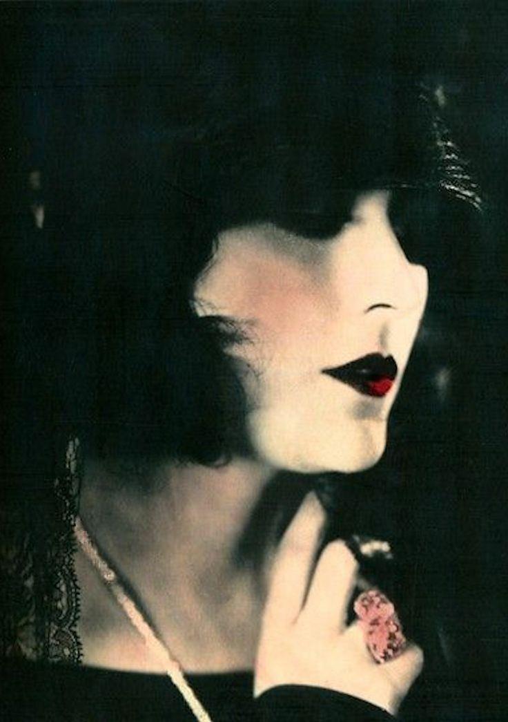 Pola Negri - 1920's - Hand Tinted Portrait
