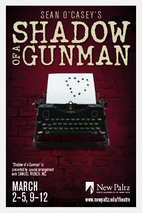 Shadow of a Gunman a tragicomedy of Irish Independence opens March 2 at SUNY New Paltz