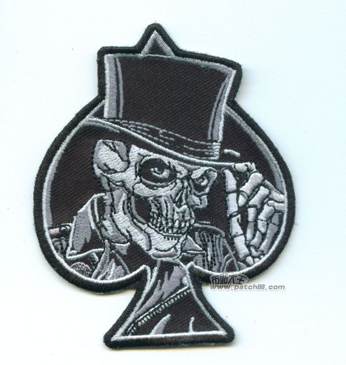 Cheap bag balloon, Buy Quality badge apple directly from China bag retail Suppliers:     Rock Punk Style Ace of Spades Patches Embroidery Armbands Skull Poker Clothes Bags Badges          Size:8.9*10
