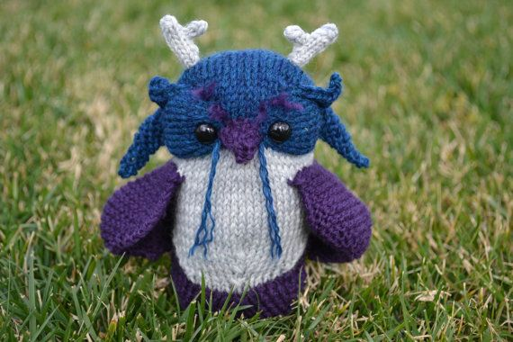 World of Warcraft Moonkin Amigurumi Plushie by GordianKnits, $30.00