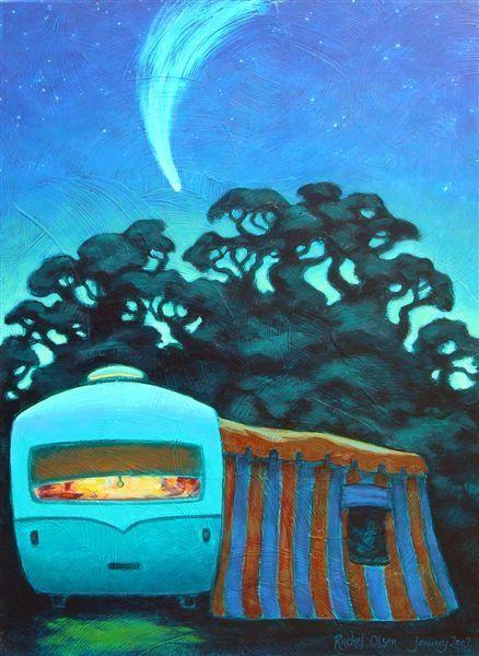 Comet Caravan by Rachel Olsen