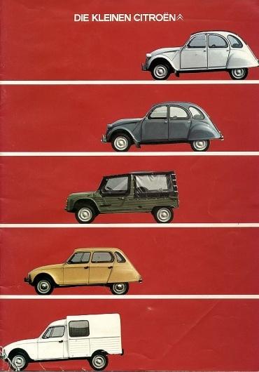 2CV Poster www.vintageroadtrips.com