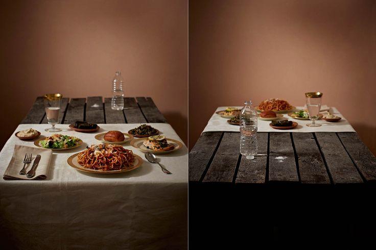 富裕層と貧困層の食事を並べてみた 「持てる者と持たざる者」の目に余る格差(画像)SAR