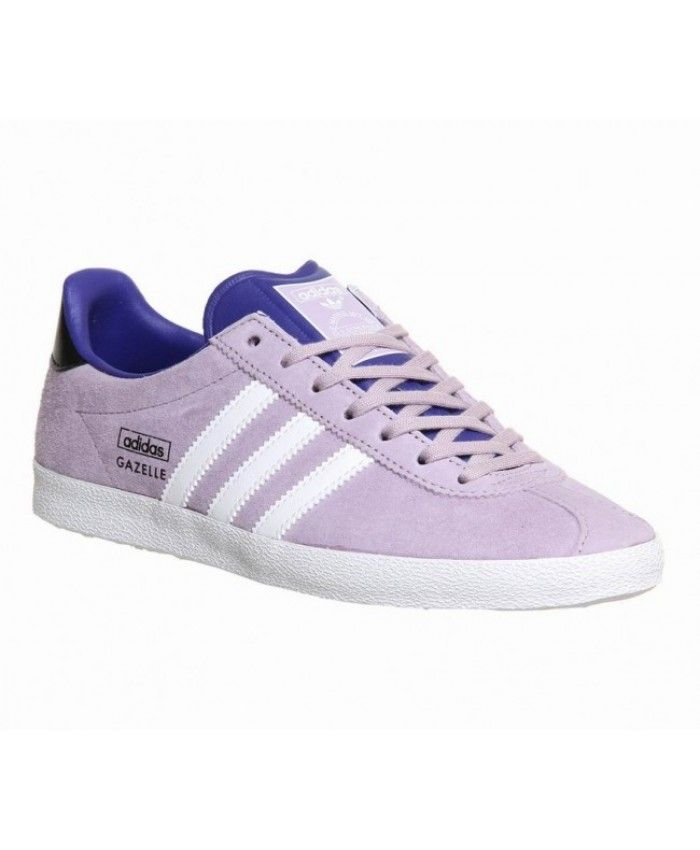 6bb6a002d Adidas Gazelle Og W Womens Bliss Purple Night Flash Trainers Sale ...