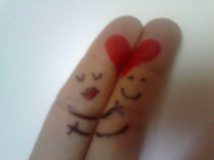 Rakkautta sormenpäitä myöten <3
