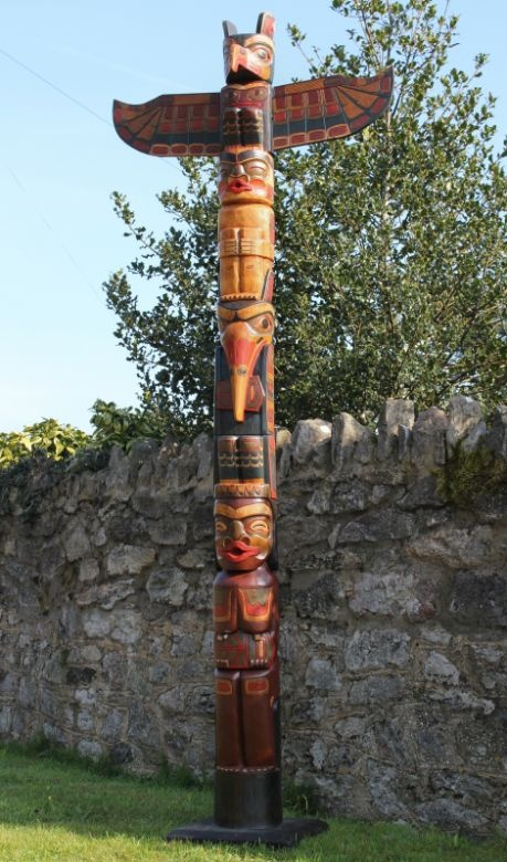 Best images about totem poles on pinterest canada