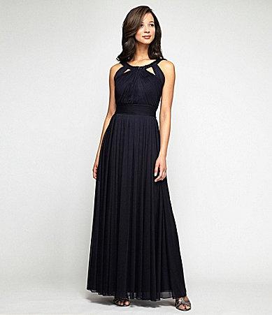 46b15815087f Military Ball Gown. Alex Evenings BeadNeck Cutout Gown #Dillards