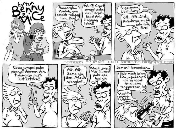 Benny & Mice, Kompas 27 Desember 2009: Keselek Tulang