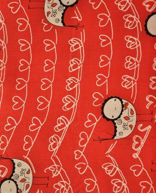 D5904R White Hearts | Andover Fabrics | Marisa and Creative Thursday