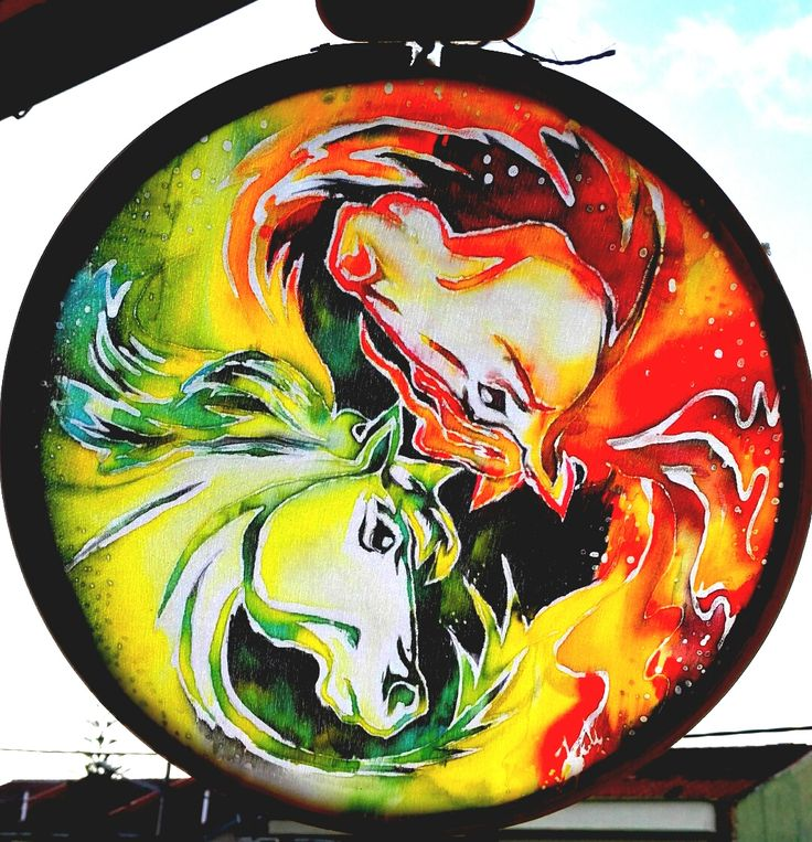 Double Horse Batik