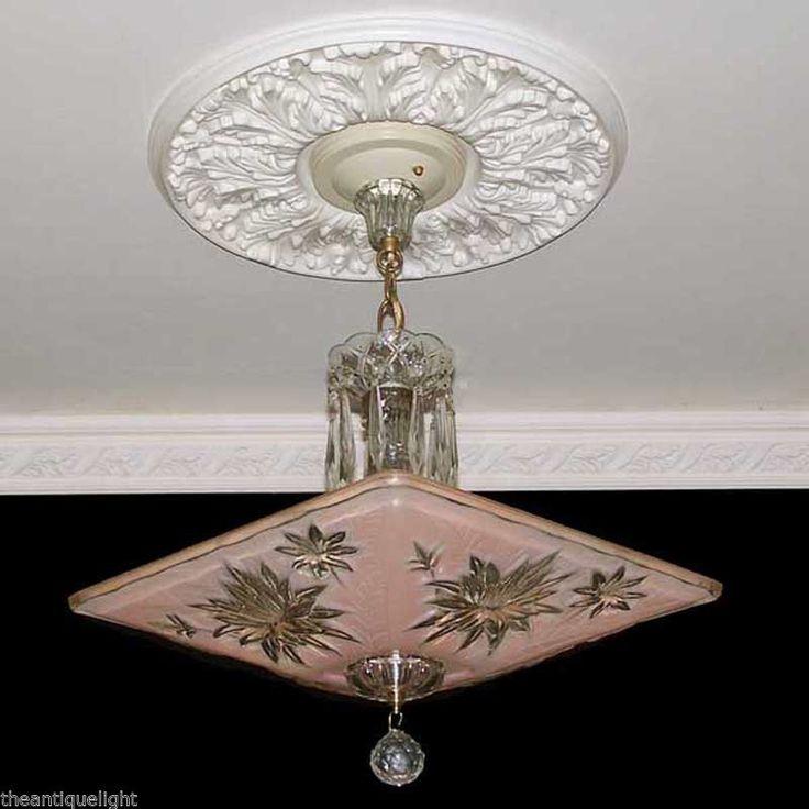Ist vintage lamp globes