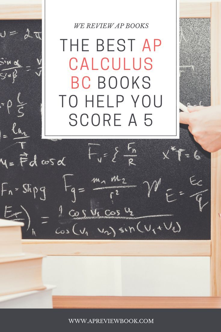 The Best AP Calculus BC Books To Help You Score a 5 | AP