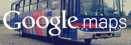 Google Maps agora tem rotas de transporte interestadual.