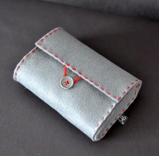 Masni Dekoráció: DIY filc tartóka / DIY felt pouch