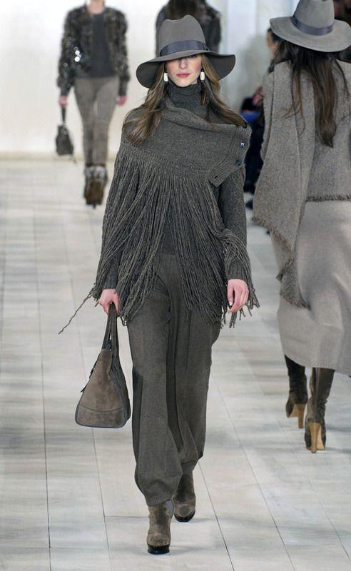 Ralph Lauren Collection - Desfile - Nueva York - Otoño invierno 2015-2016 - ELLE.ES: