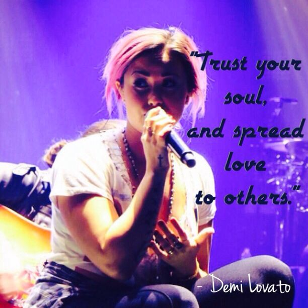 Demi Lovato Staying Strong Quotes Love
