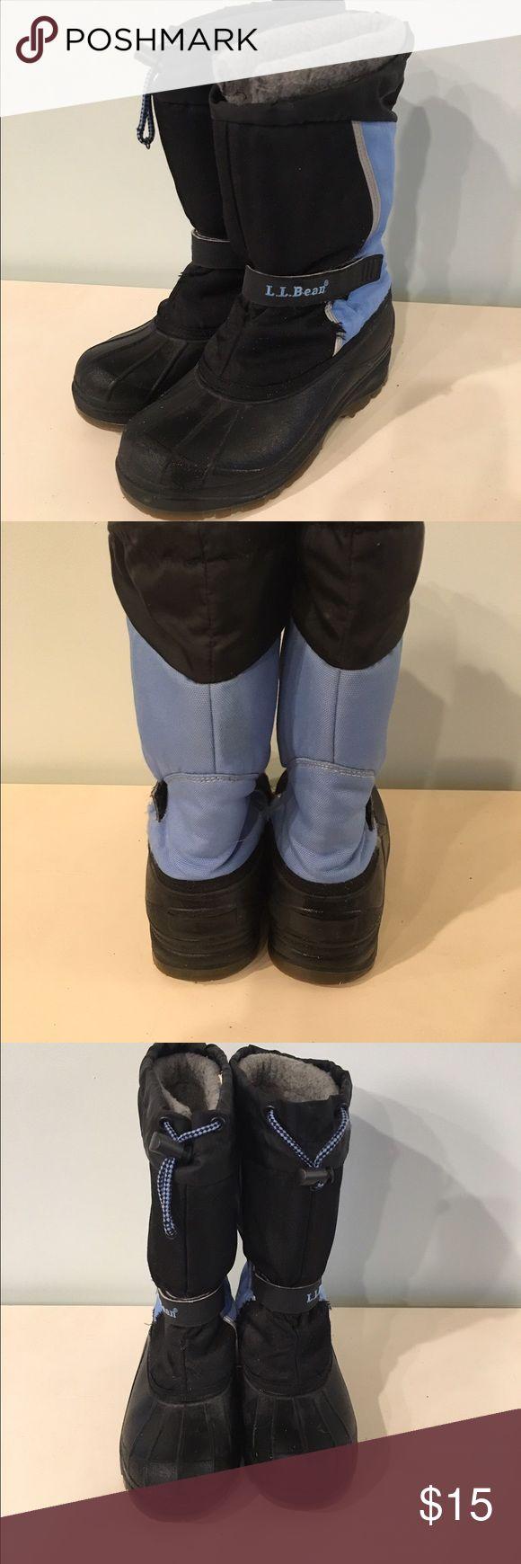 LL Bean Kids snow boots LL Bean Snow Boots kids size 5. LL Bean  Shoes Rain & Snow Boots