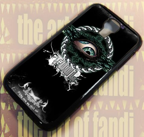 Tool Band Logo For Samsung Galaxy S4 Black Rubber Case
