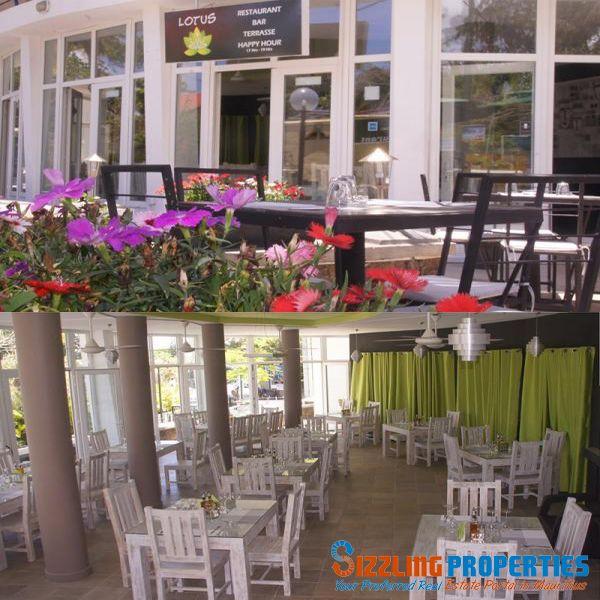 Tres beau restaurant entièrement remis a neuf avec toutes les licences ( Food,Alcool, entertainement) a vendre face à la plage de Pereybere. 100 couverts dont 50 en salle intérieure et 50 en terrasse et jardin. Fond de commerce 4.5Millions + Murs 3.5 Millions.