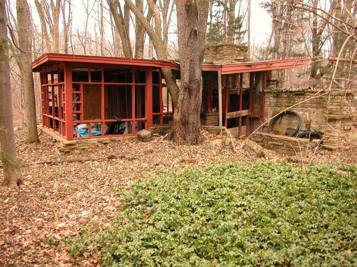 penfield house frank lloyd wright pinterest architektur. Black Bedroom Furniture Sets. Home Design Ideas