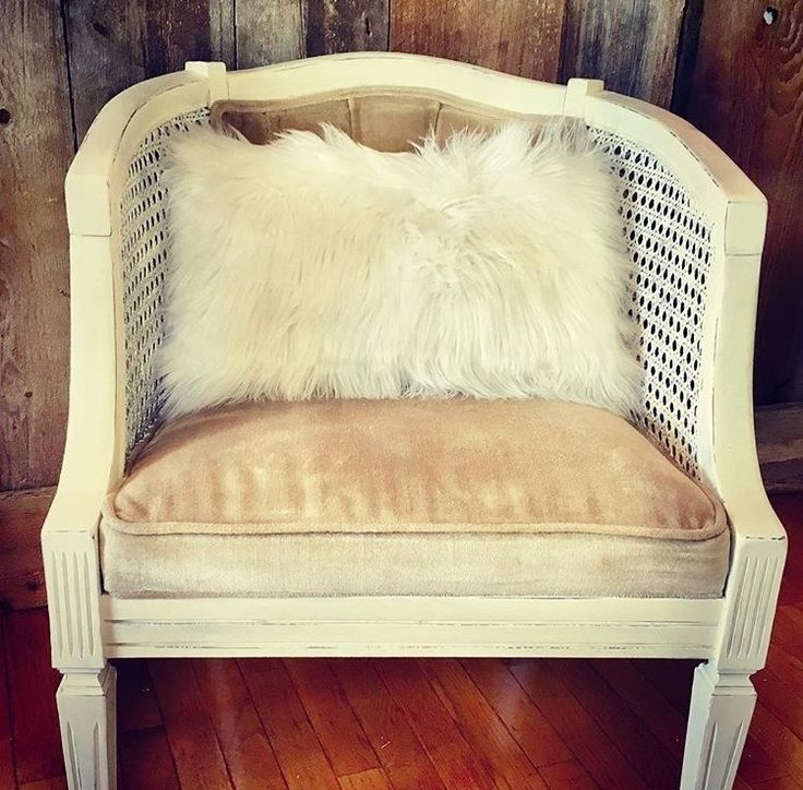 Vintage Cane Barrel Chairs Reveal ‹ The Painted Crowe