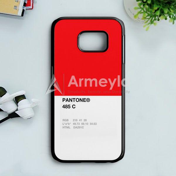 Pantone 485 C Samsung Galaxy S7 Case | armeyla.com