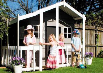 small deluxe playhouse for sale