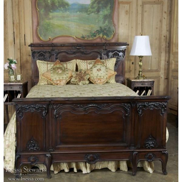 Antique Bedroom Furniture | 19th Century French Walnut Neoclassical Bedroom  Set | Www.inessa.