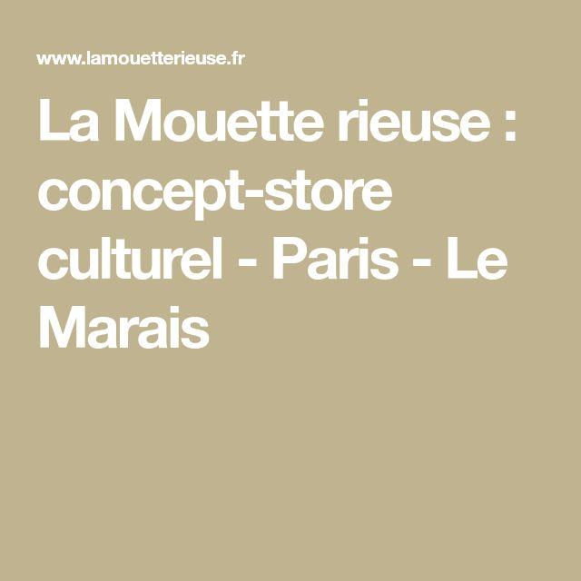 La Mouette rieuse : concept-store culturel - Paris - Le Marais