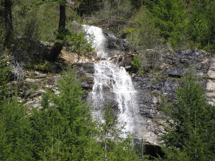 Waterfall near Slocan