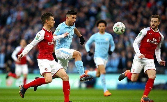 Man City Hủy Diệt Arsenal Pep Co Danh Hiệu đầu Tien Tại Anh Man City đa Co Một Trận đấu Tren Chan Hoan Toan So Với đối Thủ A Manchester City