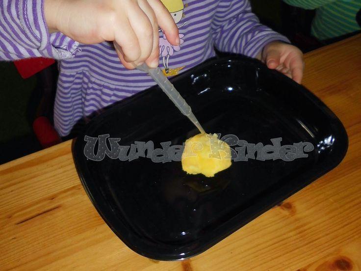 Wunderbare Kinderwelt: Goldnuggets selbst gemacht