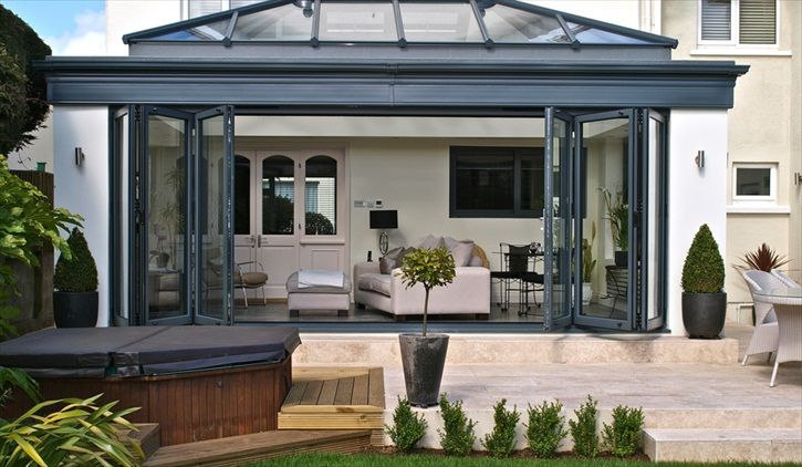 Bifold Doors » PVCu, Aluminium & Timber Bifold Doors from KAT UK