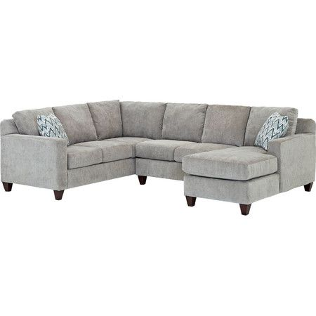 Lounge on this stylish sectional to catch up on your for Sectional sofa joss and main