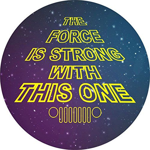 The Force is Strong With This One Jeep Spare Tire Cover