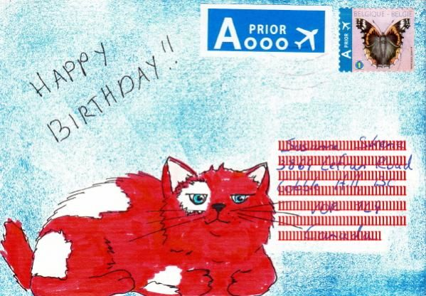 Mail art by Anviss of ATC's For All.