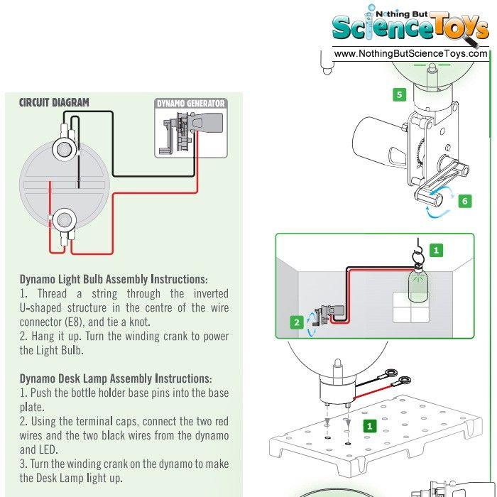 dynamo circuit kit for kids
