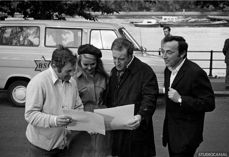Behind the Scenes of Hoffman (1970) - Peter Sellers, Sinead Cusack