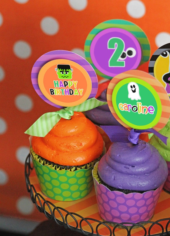 Birthday Halloween Party Printable  Birthday by AmandasPartiesToGo